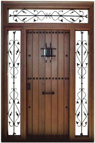 Talleres camacho productos for Puertas rusticas de aluminio